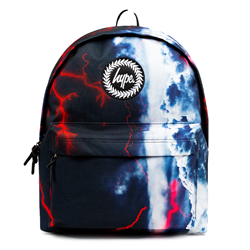 Hype Stormy Sky Backpack - Black & Blue