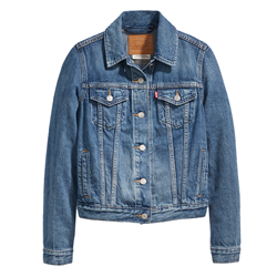 Levi's Original Trucker Jacket - Soft As Butter Dark