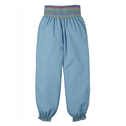 Frugi Hermione Harem Trousers - Chambray
