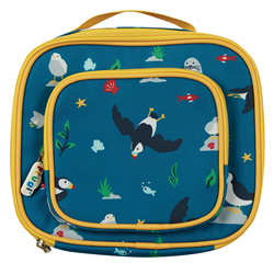 Frugi National Trust Pack A Snack Lunch Bag - Puffin