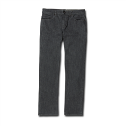 Volcom Solver Denim Jeans - Dark Grey