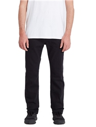 Volcom Solver Tapered Jeans - Blackout