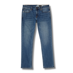 Volcom Vorta Denim Jeans - Cowboy Blues
