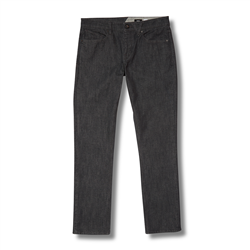 Volcom Vorta Denim Jeans - Dark Grey