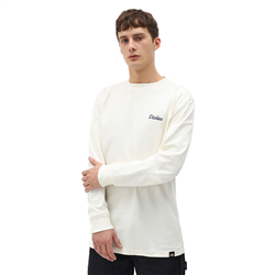 Dickies Halma Long Sleeved T-Shirt - Ecru