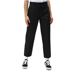 Dickies 874 Cropped Trousers - Black
