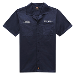 Dickies Halma Shirt - Navy Blue