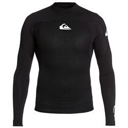 Quiksilver Prologue 1.5mm Long Sleeve Surf Top - Black