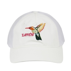 Levi's Mesh Back Baseball Cap - Regular White