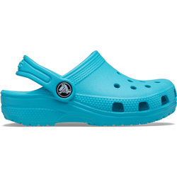 Crocs Girls Classic Clogs - Digital Aqua