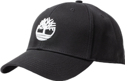 Timberland 3D Embroidery Baseball Cap - Black