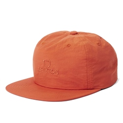 Brixton Alpha MP Snapback Cap - Carrot