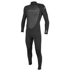 O'Neill Reactor II 3/2mm Back Zip Wetsuit (2021) - Black