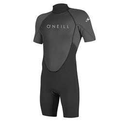 O'Neill Reactor II Back Zip SS Spring Suit (2021) - Black & Graphite