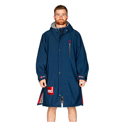 Red Paddle Long Sleeve Pro Changing Robe - Navy