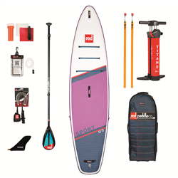 "Red Paddle 11'3"" Sport SE SUP Carbon 50 Nylon Pack - Purple"