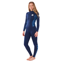 Rip Curl Dawn Patrol 3/2mm Back Zip Wetsuit (2021) - Blue