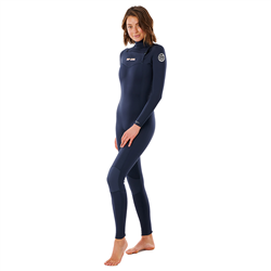 Rip Curl Dawn Patrol 3/2mm Chest Zip Wetsuit (2021) - Slate