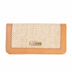 Rip Curl Paradise Palms Cheque Book Purse - Honey