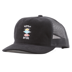 Rip Curl Search Logo Trucker - Black