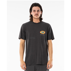 Rip Curl Fadeout Sun T-Shirt - Washed Black