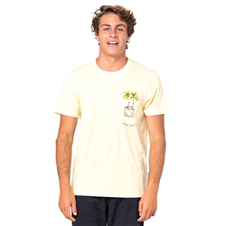 Rip Curl In Da Pocket T-Shirt - Pale Yellow