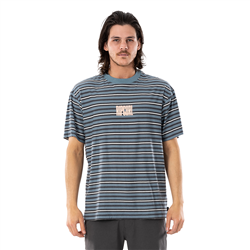 Rip Curl Mind Wave T-Shirt - Mid Blue
