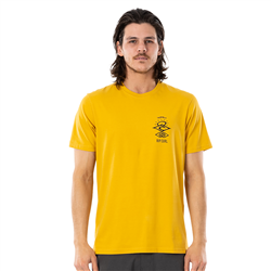 Rip Curl Search Essential T-Shirt - Mustard
