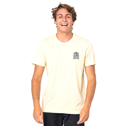 Rip Curl Sport Eco T-Shirt - Pale Yellow