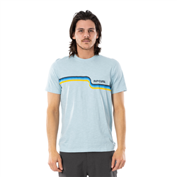 Rip Curl Surf Revival T-Shirt - Light Blue