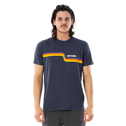 Rip Curl Surf Revival T-Shirt - Navy