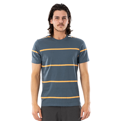 Rip Curl Saltwater Culture Sundown Stripe T-Shirt - Washed Navy