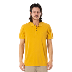 Rip Curl Faded Polo Shirt - Mustard