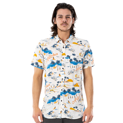 Rip Curl Hawaiian Shirt - Bone