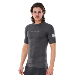 Rip Curl Dawn Patrol Performance UV T-Shirt - Black Marle