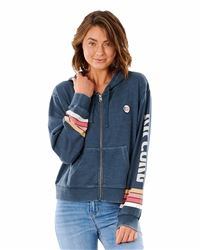 Rip Curl Golden State Zipped Hoody - Navy