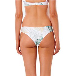 Rip Curl Coastal Palms Cheeky Hipster Bikini Bottoms - White