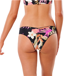 Rip Curl North Shore Cheeky Hipster Bikini Bottoms - Black