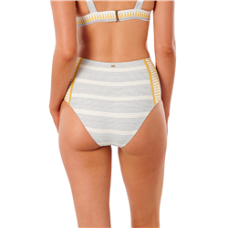Rip Curl Salty Daze High Waisted Bikini Bottoms - Gold