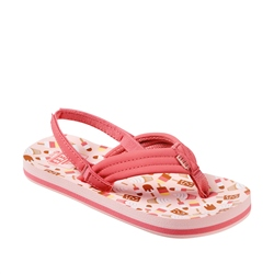 Reef Kids Little Ahi Flip Flops - Ice Cream Truck