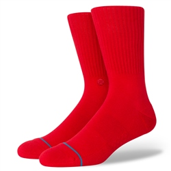 Stance Icon Socks - Red