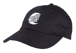 Santa Cruz Moon Dot Mono Cap - Black
