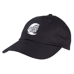 Santa Cruz Womens Moon Dot Mono Cap - Black