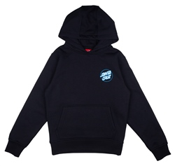 Santa Cruz Youth Grip Dot Hoody - Black