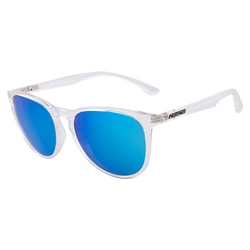 Dirty Dog Void Sunglasses Polarised Sunglasses - Crystal Clear, Grey & Ice Blue
