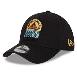 New Era Camp Patch 9Forty Cap - Black