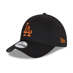 New Era Los Angeles Dodgers League 9Forty Cap - Black & Toffee