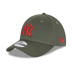 New Era New York Yankees League 9Forty Cap - New Olive