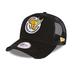 New Era Race Patch Trucker Cap - Black