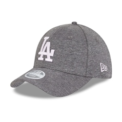 New Era Los Angeles Dodges Jersey 9Forty Cap - Grey & White